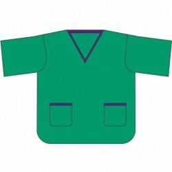 Camisa Pijama Quirúrgico Confort Coverline S